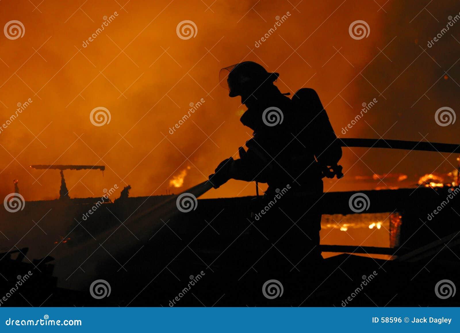 Pompiere solo