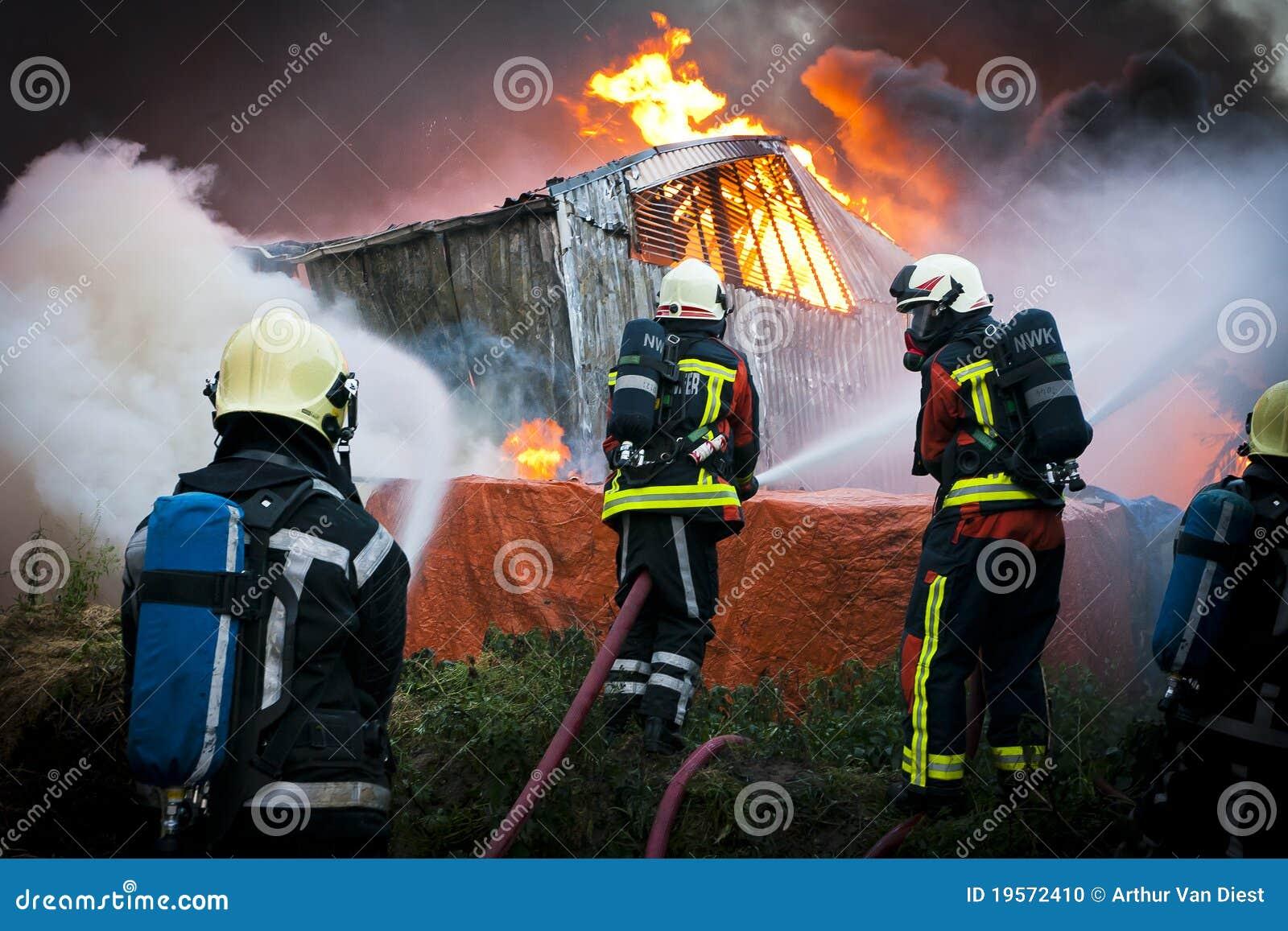 Pompiers dans l action