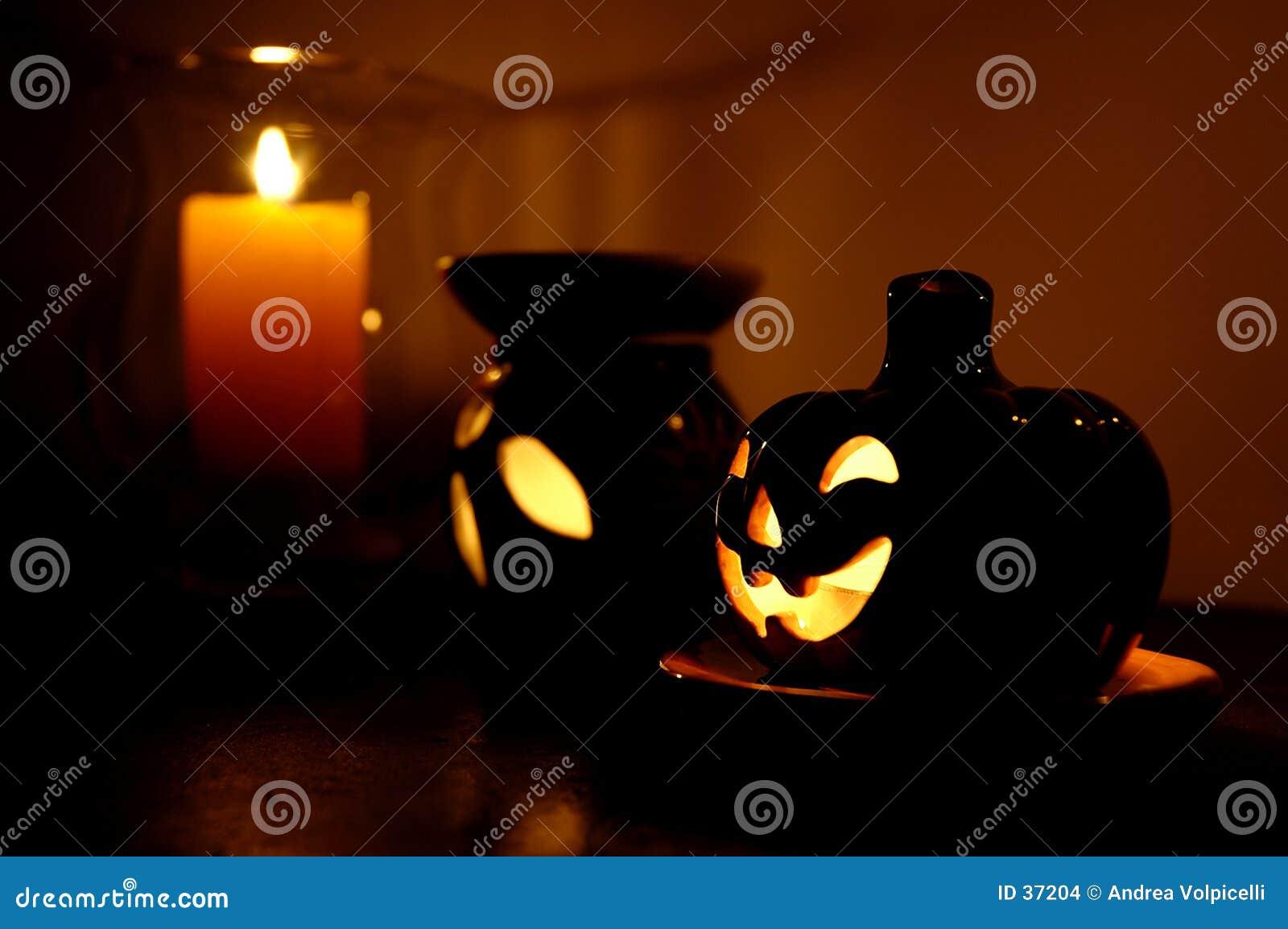 Pompoen 02 van Halloween