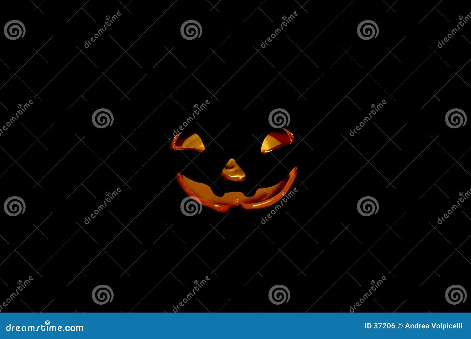 Pompoen 03 van Halloween