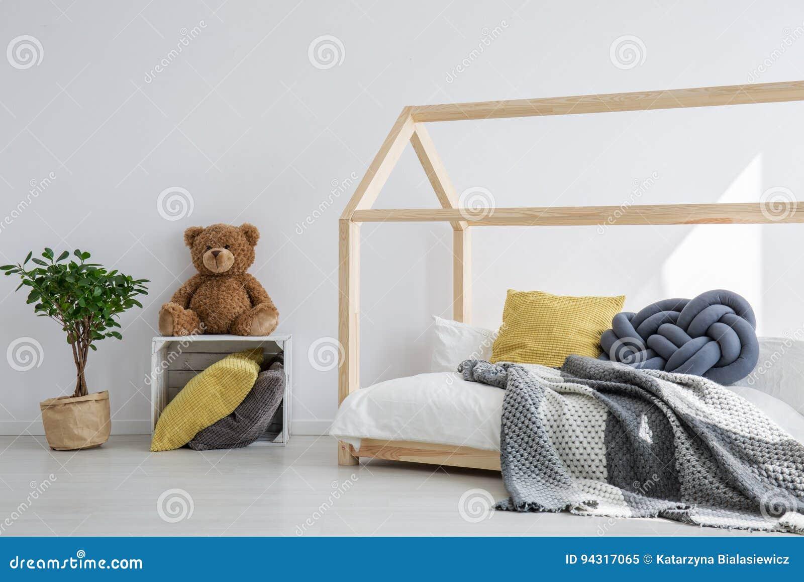Pomysł dla dzieciak sypialni