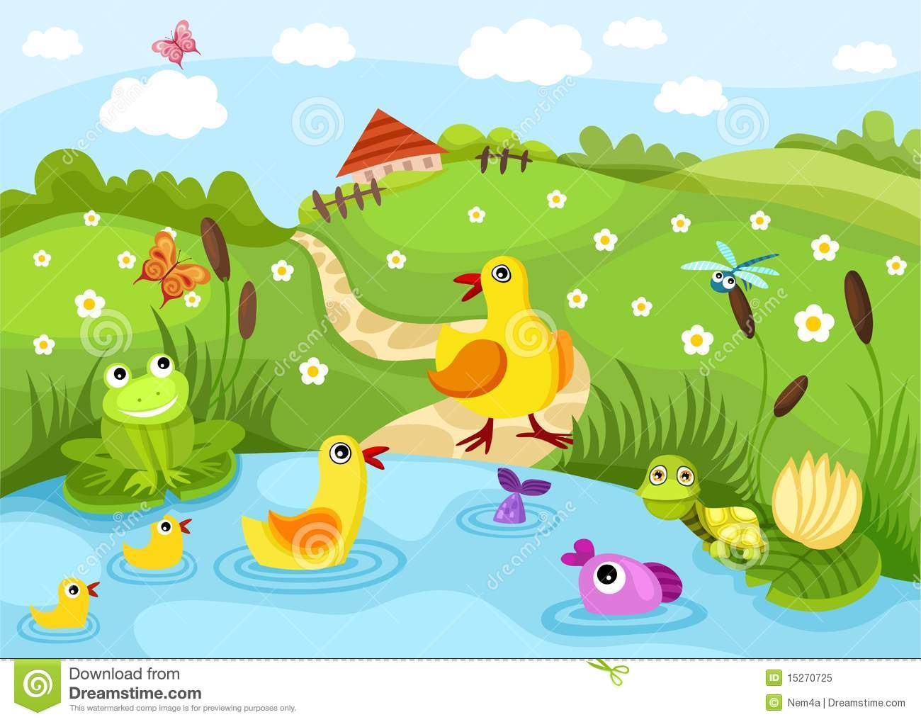 Pond Royalty Free Stock Photo Image 15270725