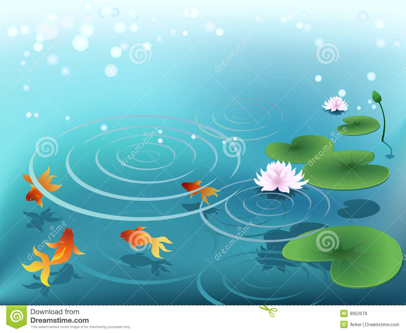 Water Lily Flower Clip Art