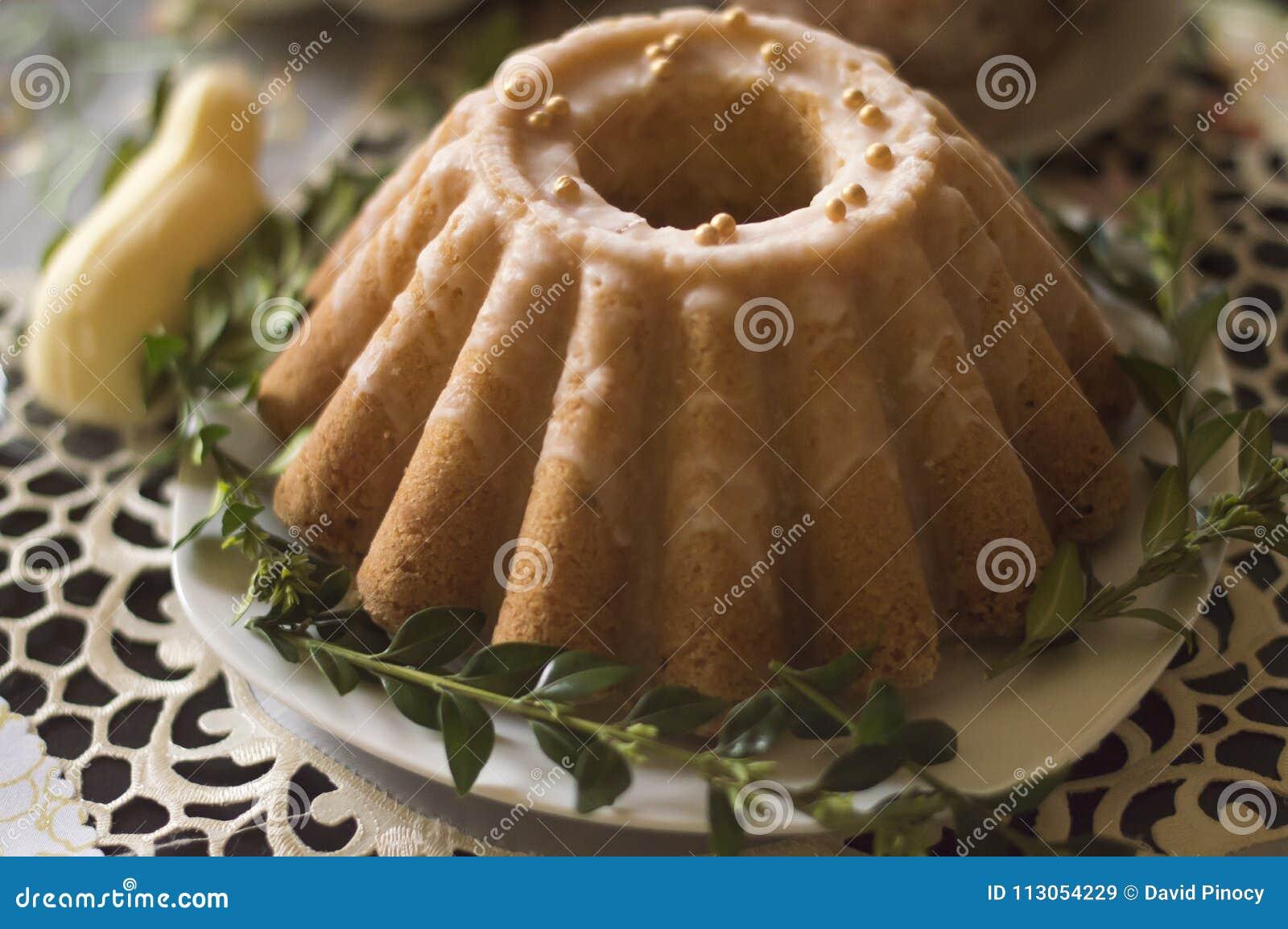 Pondcake, de traditionele cake van Pasen
