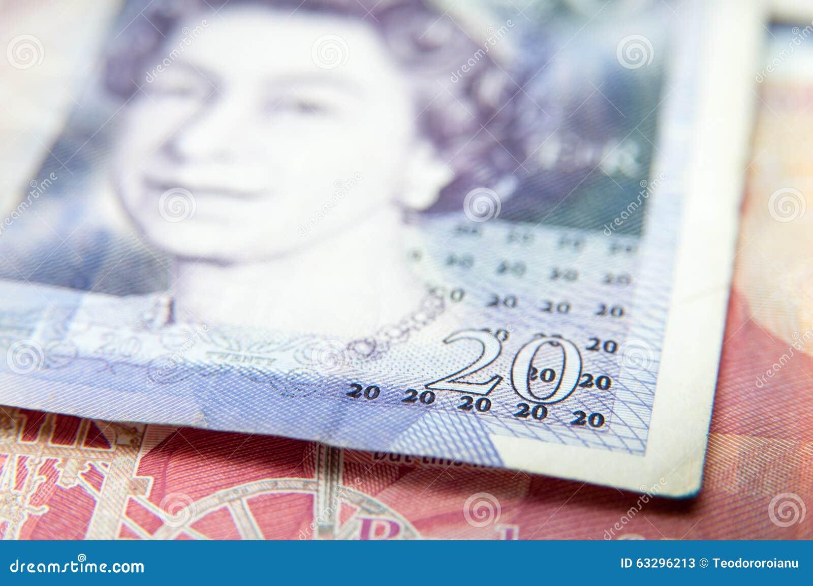 20 ponden rekenings
