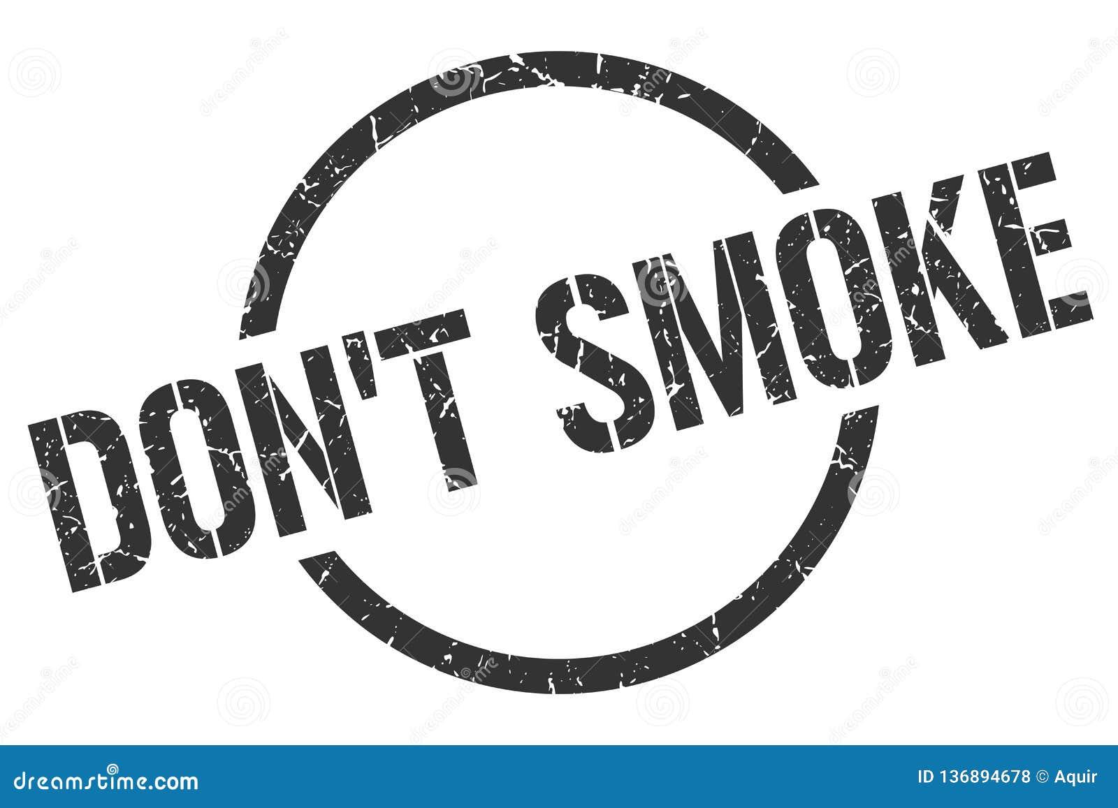 Ponga  'sello del humo de t