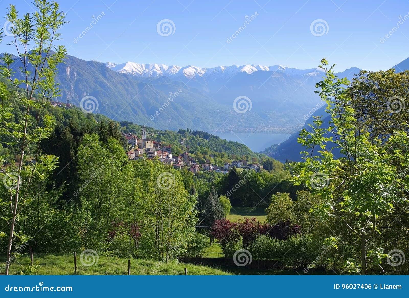 Ponna Inferiore na Jeziornym Lugano, Włochy
