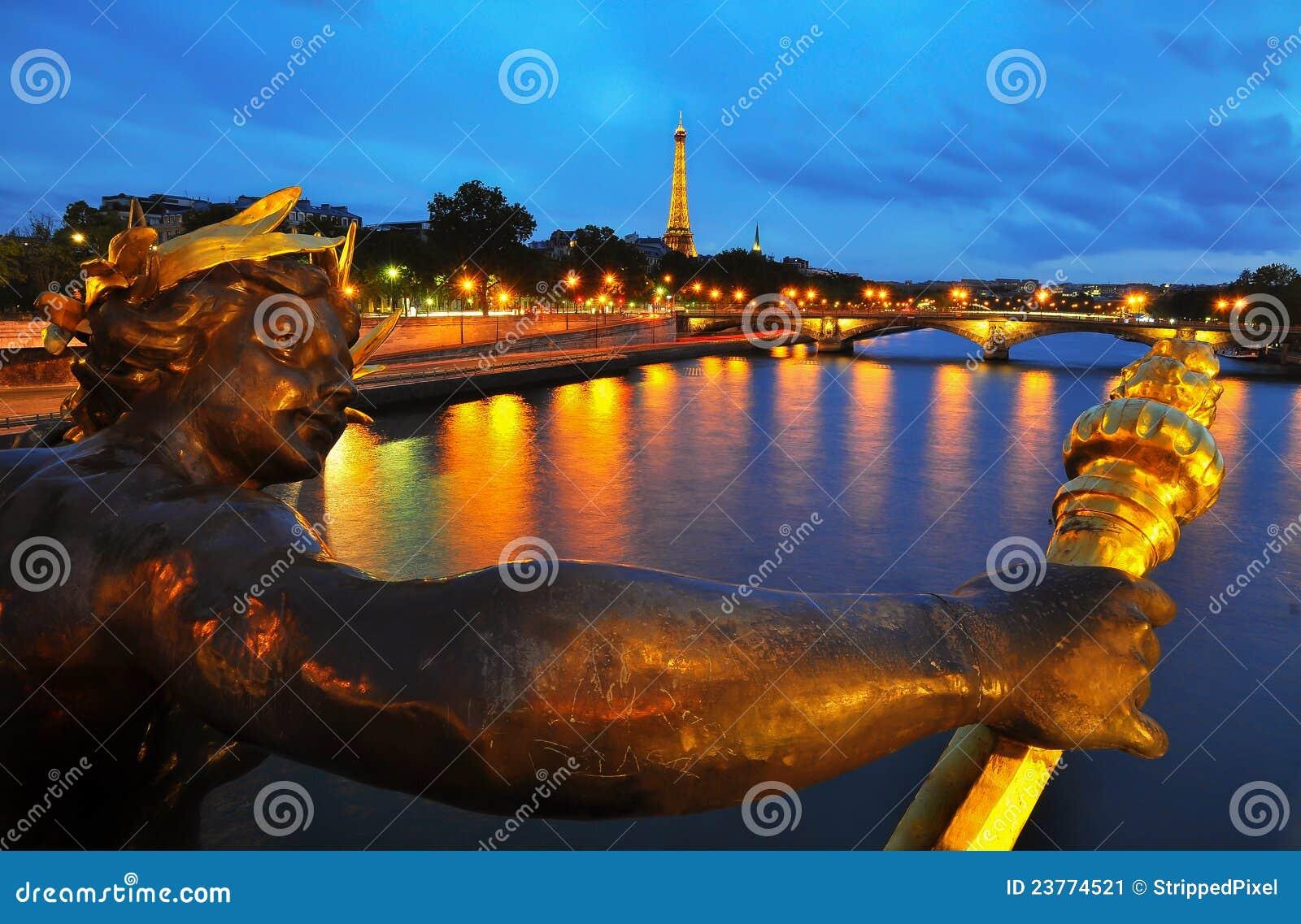 Pont Александр III, Париж
