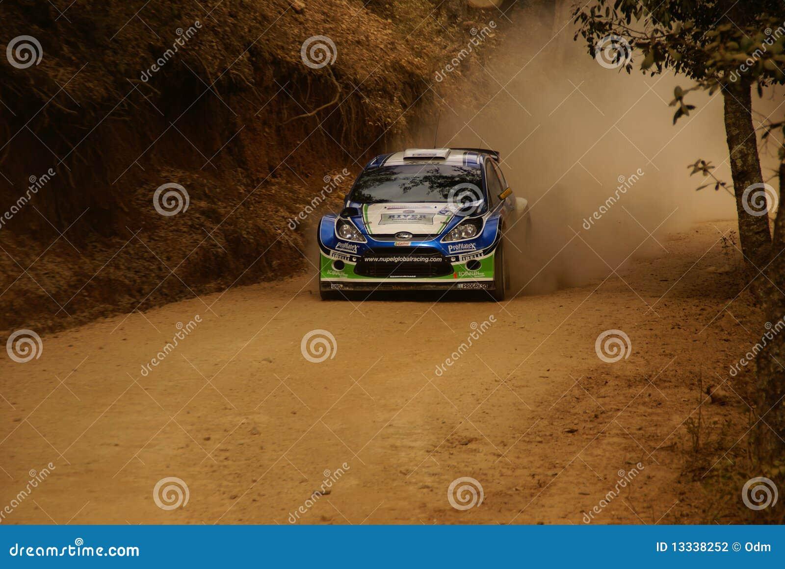 PONT 2010 du Mexique Xavier de rassemblement de corona de WRC