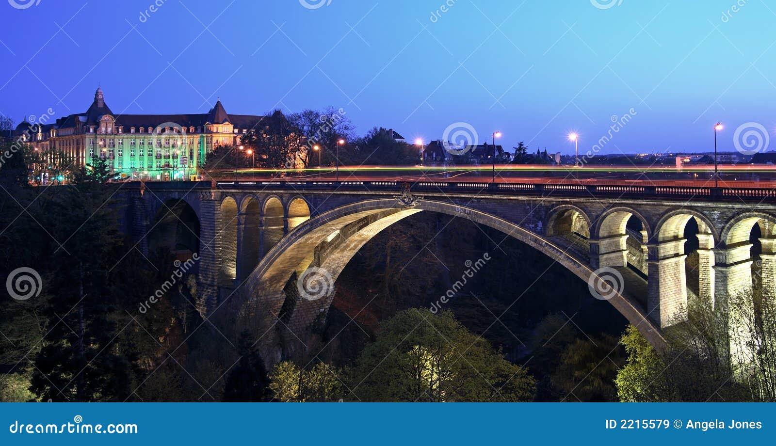 pont adolphe bridge luxembourg stock image image 2215579. Black Bedroom Furniture Sets. Home Design Ideas