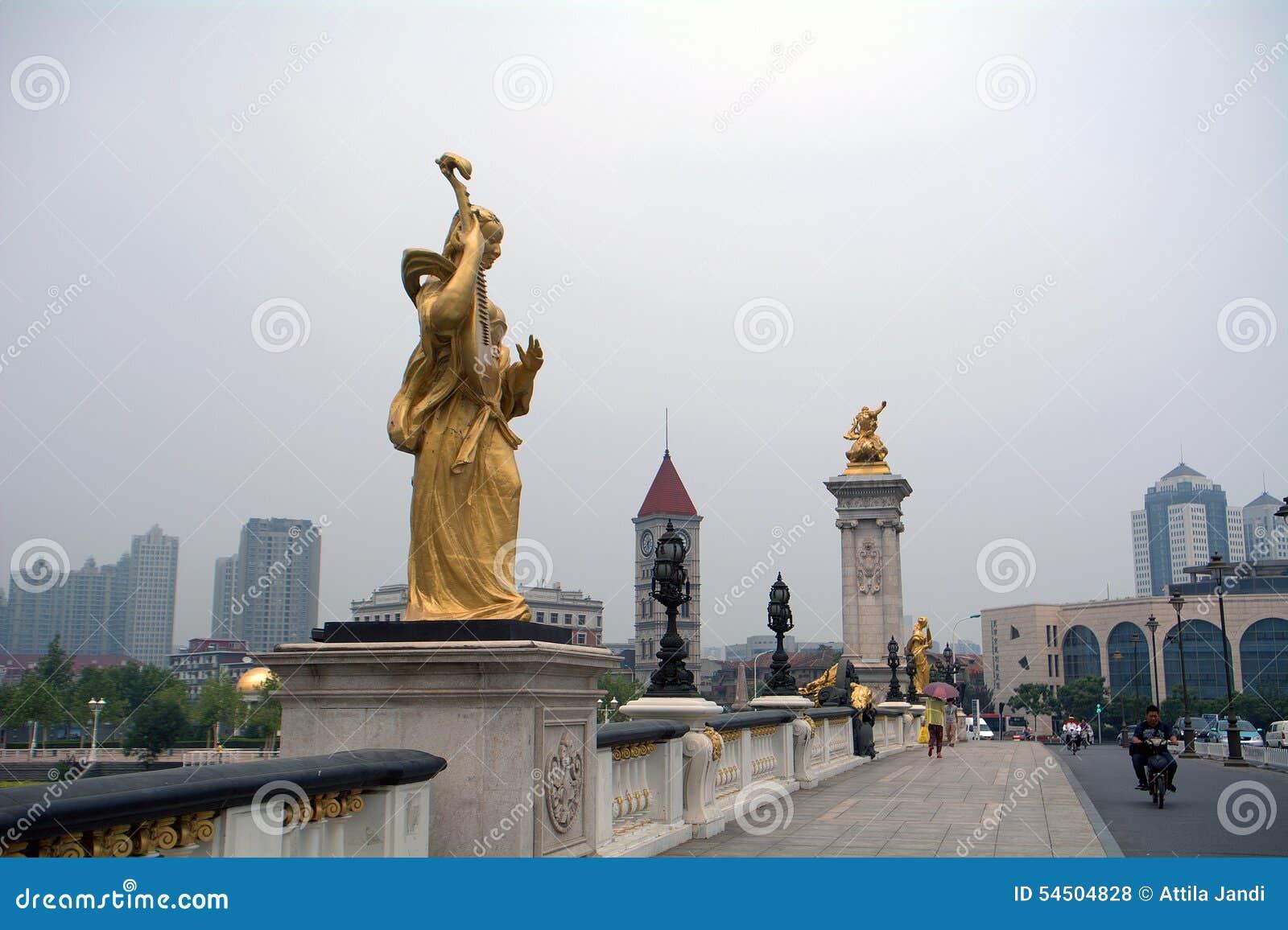 Pont austro-hongrois, Tianjin, Chine