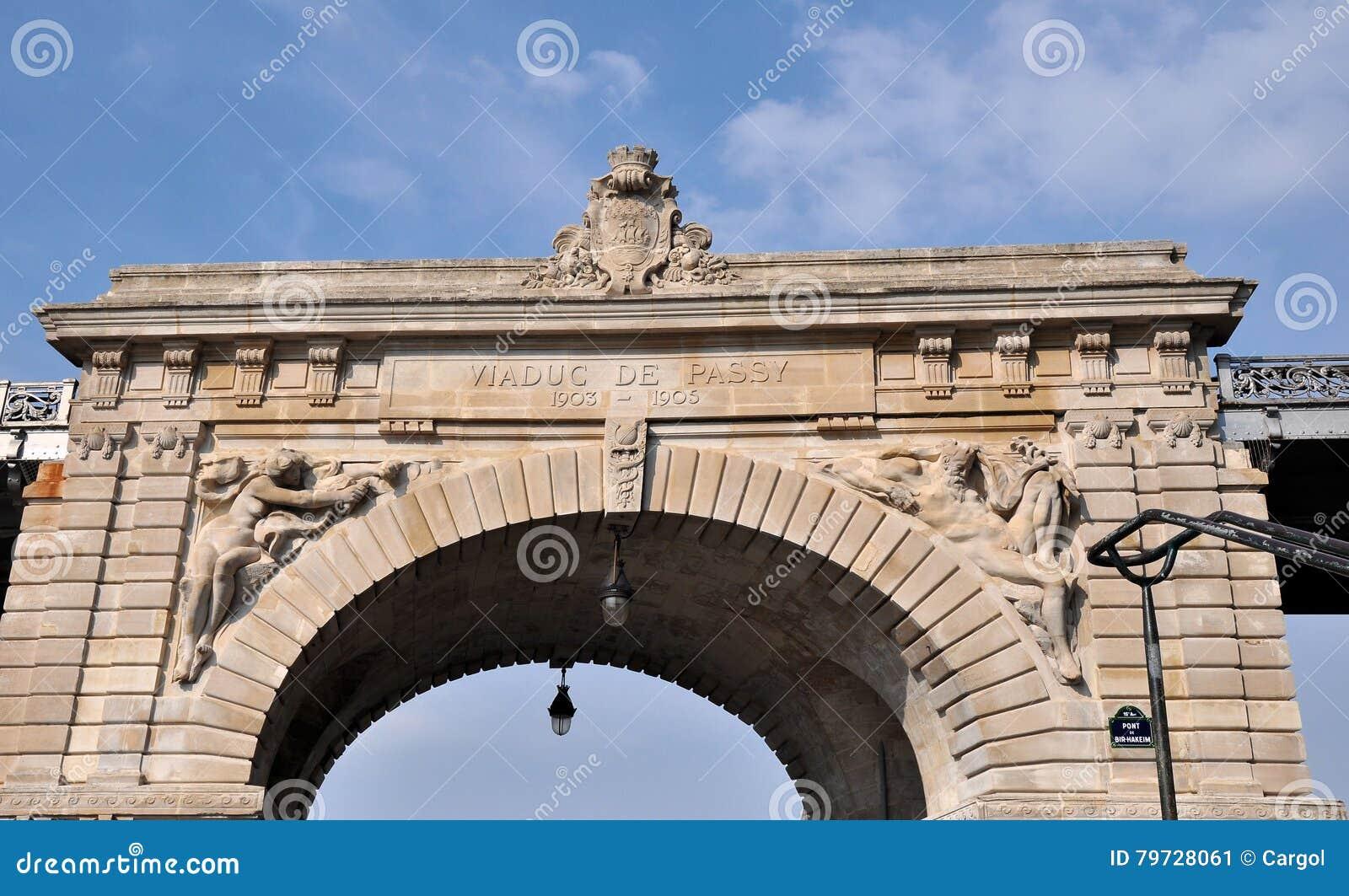 Pont de Bir-Hakeim, París, Francia