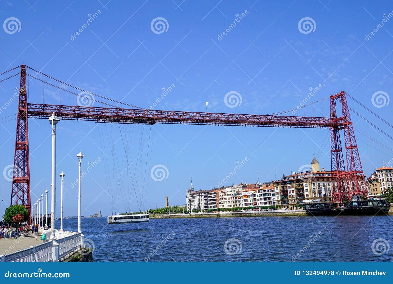 Pont de Bizkaia, Espagne Fotost a filmé en 2018