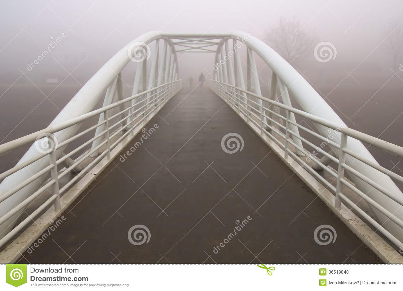 Pont de blanc de fer