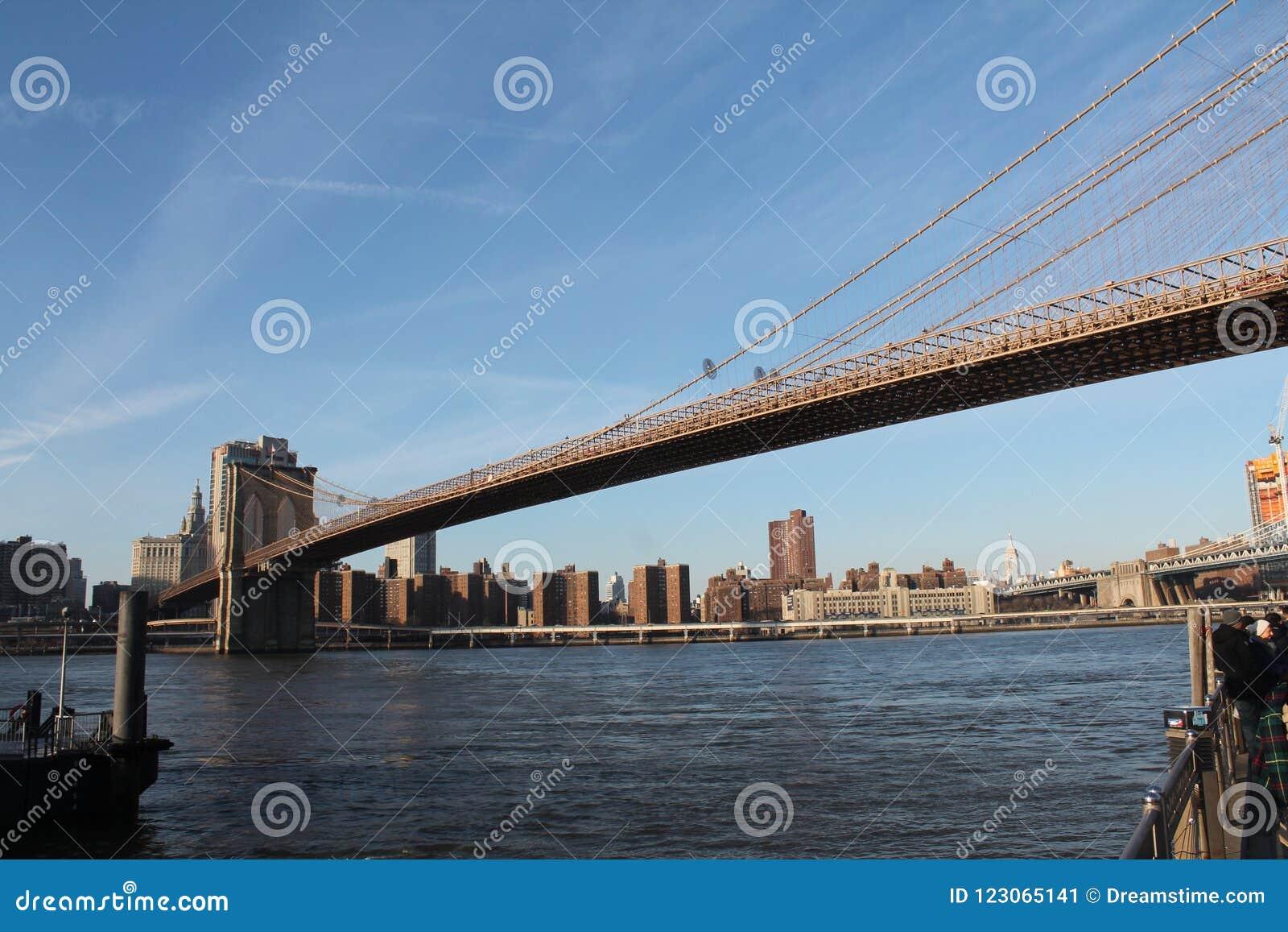 Pont de Brooklyn - comporter l East River