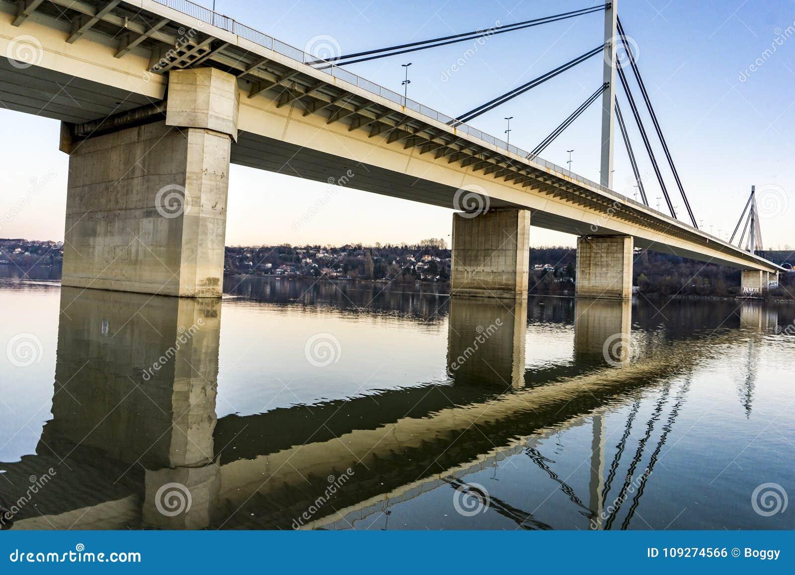Pont de liberté à Novi Sad, Serbie