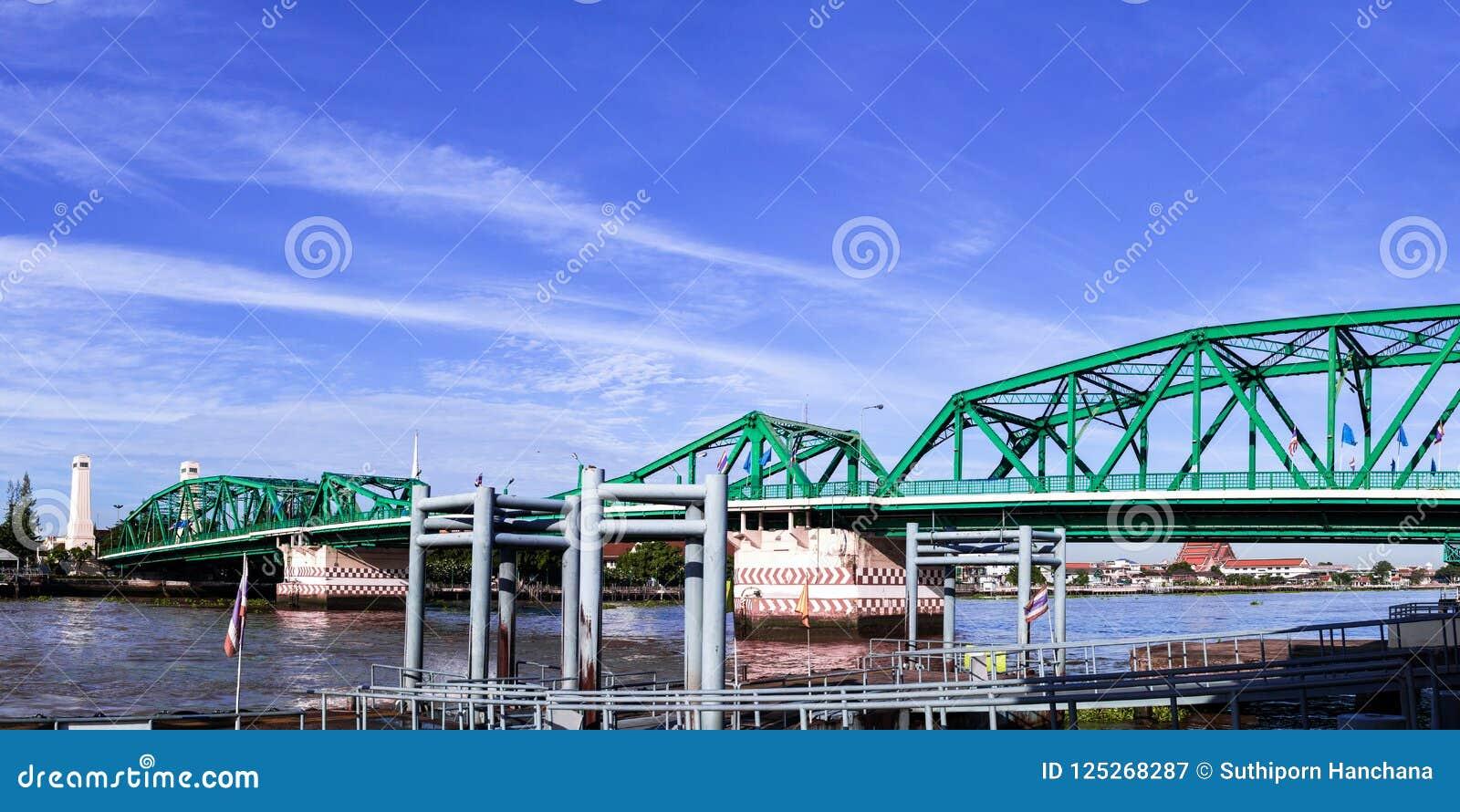 Pont de Phra Phuttha Yodfa, pont commémoratif en Thaïlande