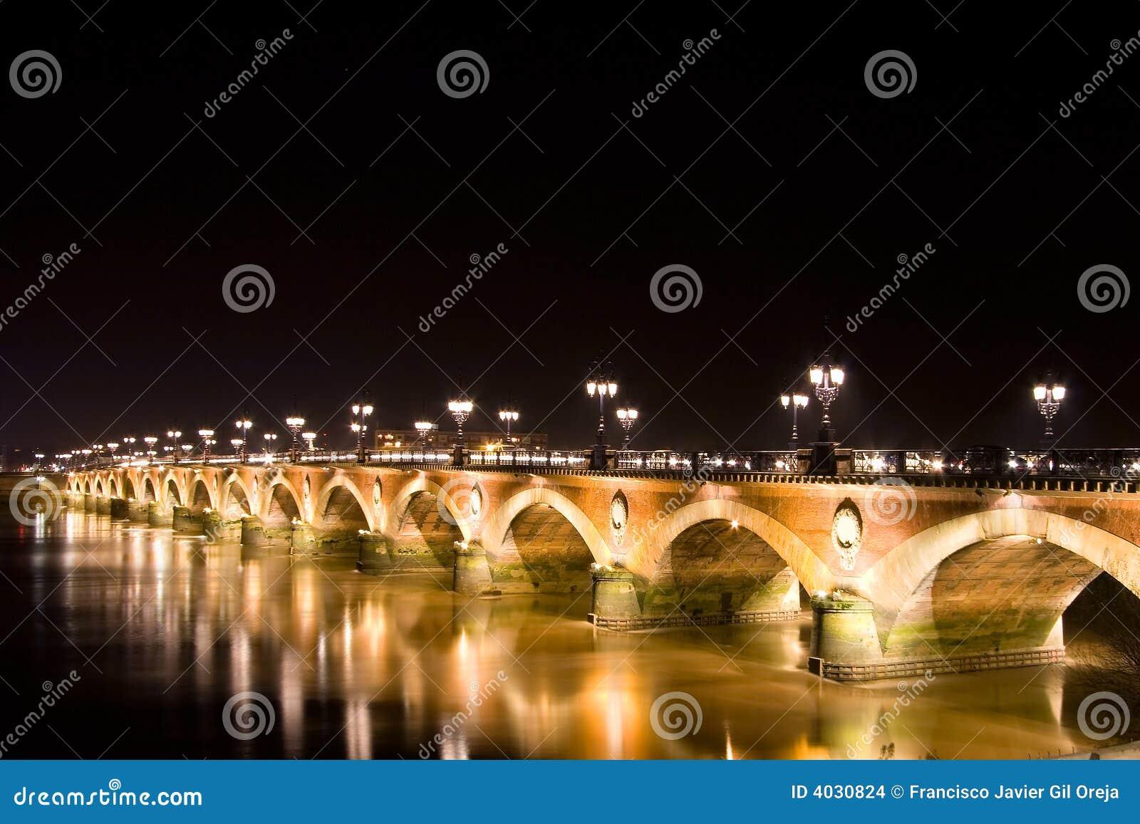 Pont De Pierre Stock Images - Image: 4030824