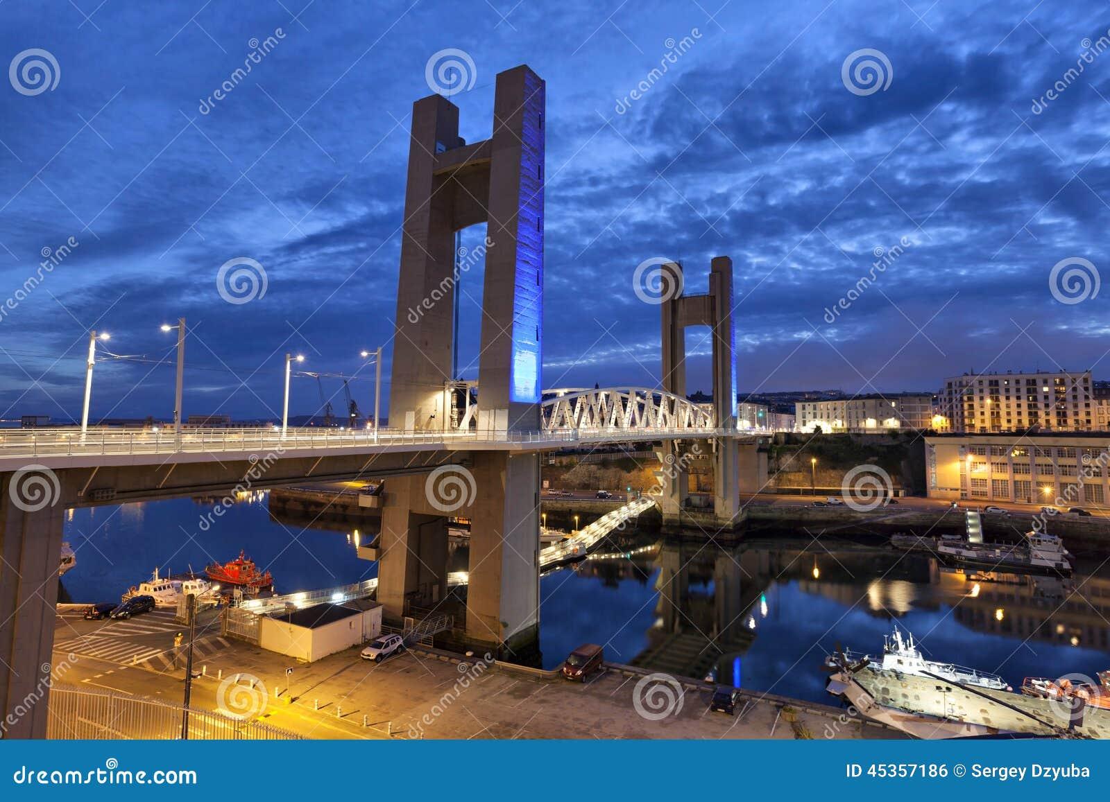 Pont de Recouvrance, Brest, France
