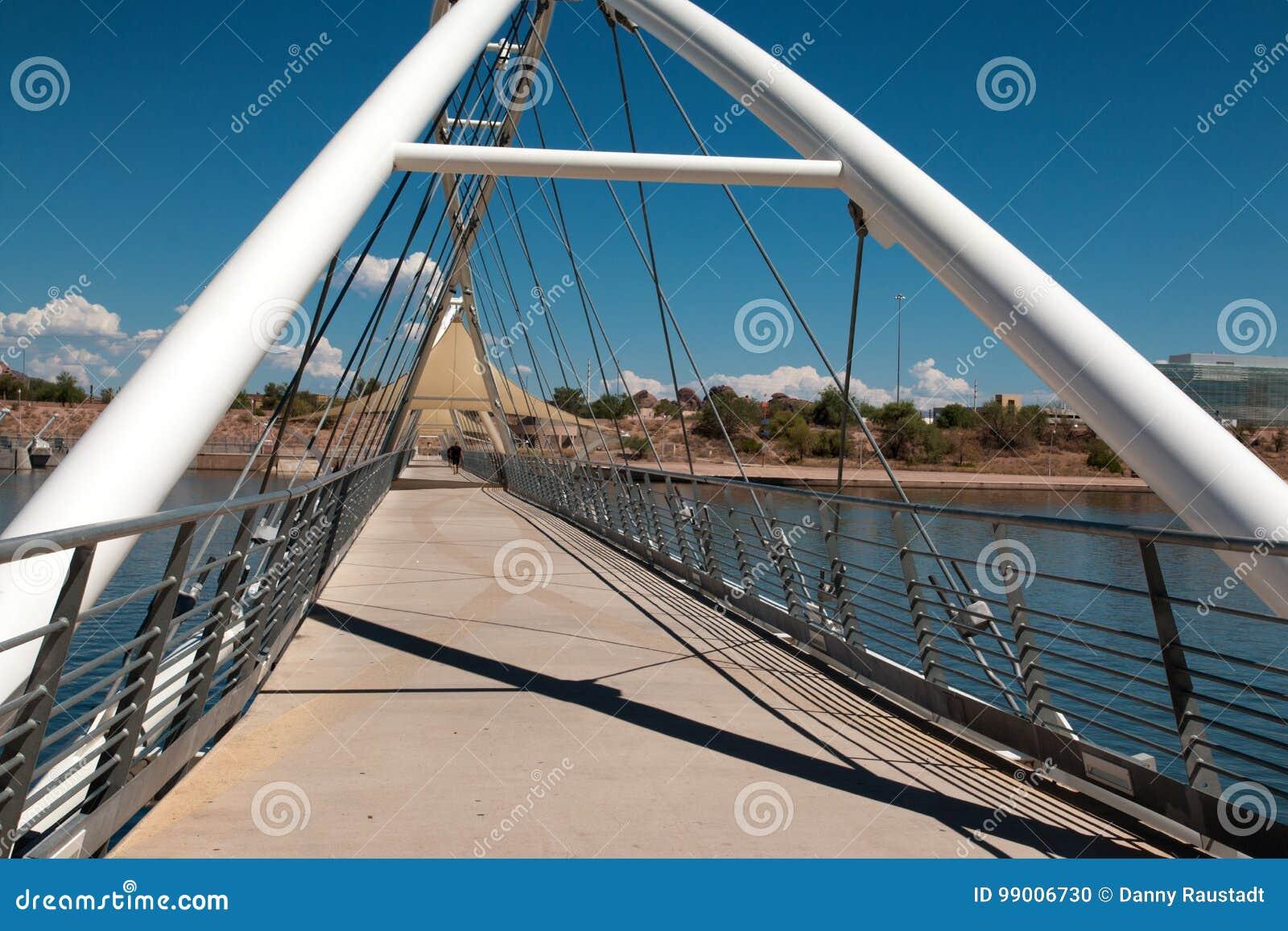 Pont de Tempe Town Lake Pedestrian Suspension