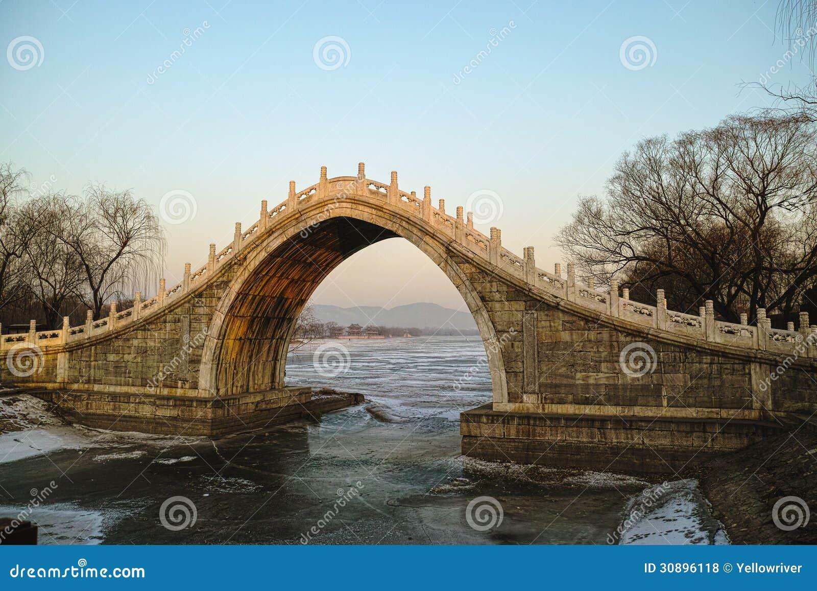 pont de vo te de style chinois photos libres de droits image 30896118. Black Bedroom Furniture Sets. Home Design Ideas