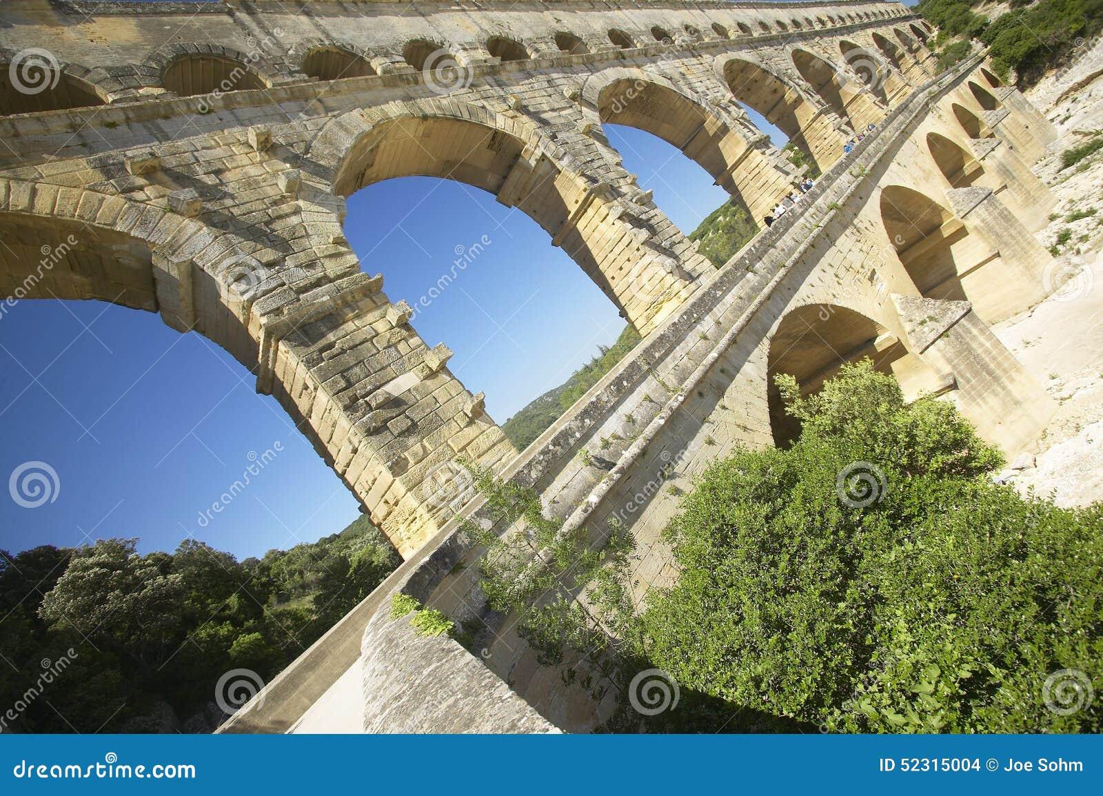 Pont du Gard, Nimes, Francja