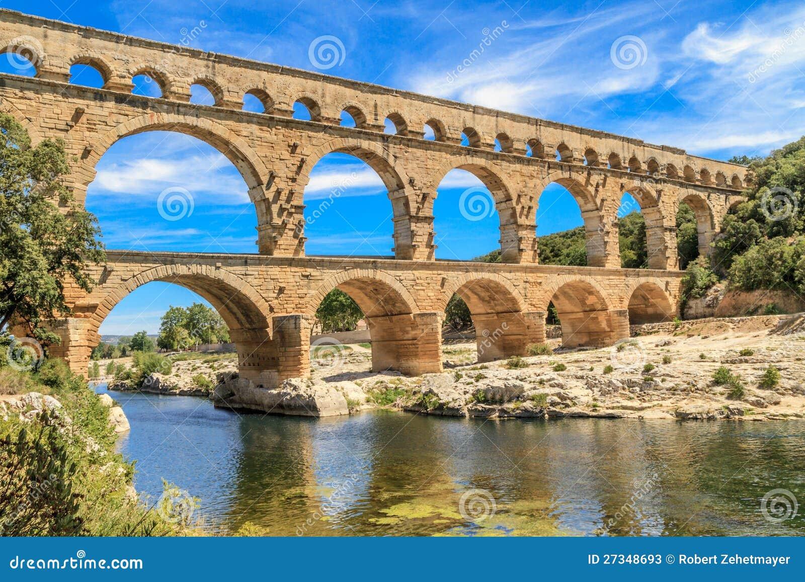 Pont DU Gard, Nimes, Provence, Frankreich
