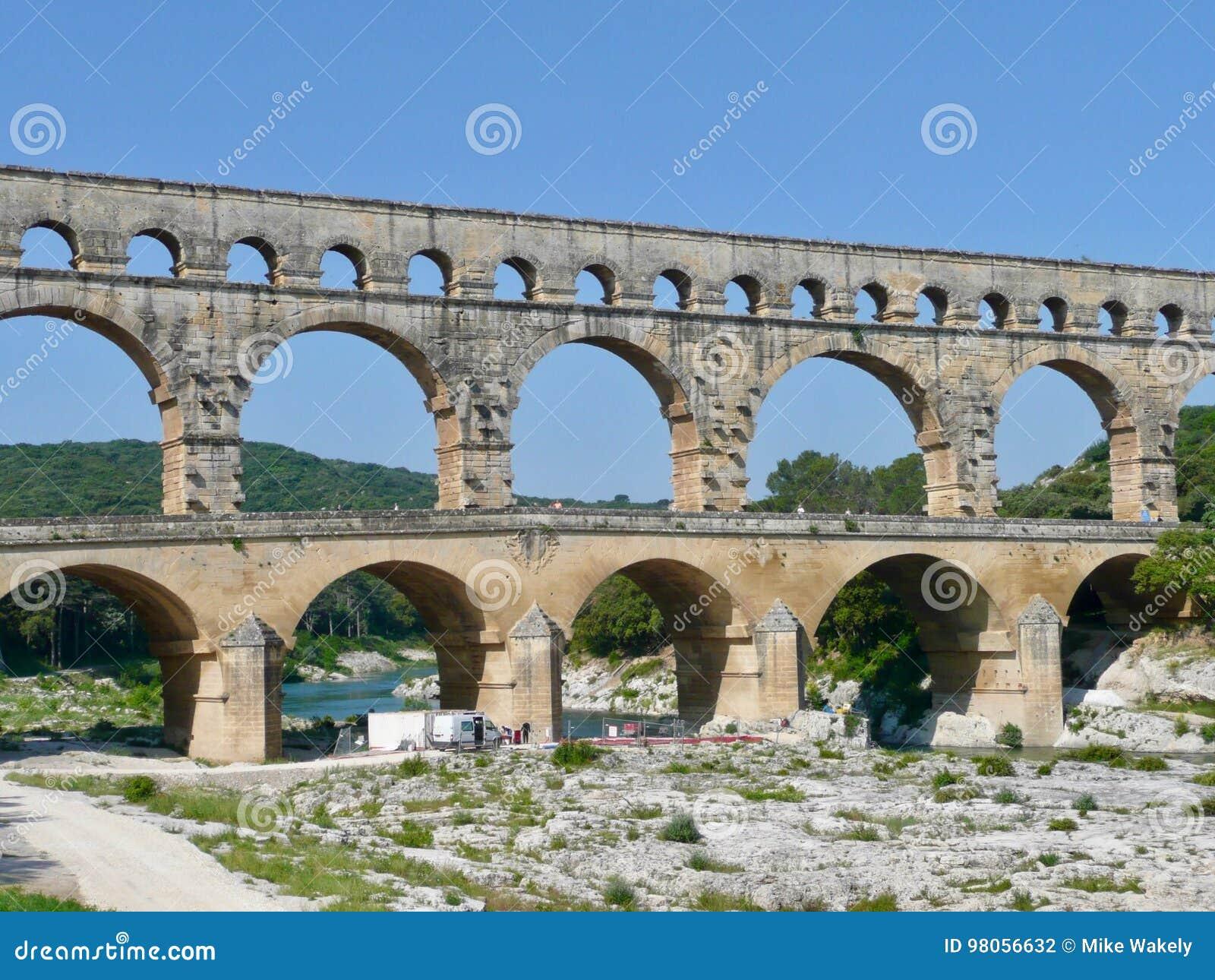 Pont du Gard on south of France