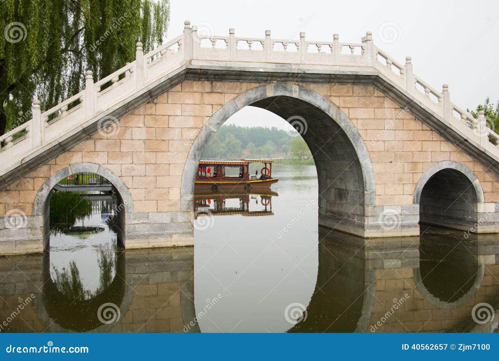 pont en pierre chinois asiatique photo stock image 40562657. Black Bedroom Furniture Sets. Home Design Ideas