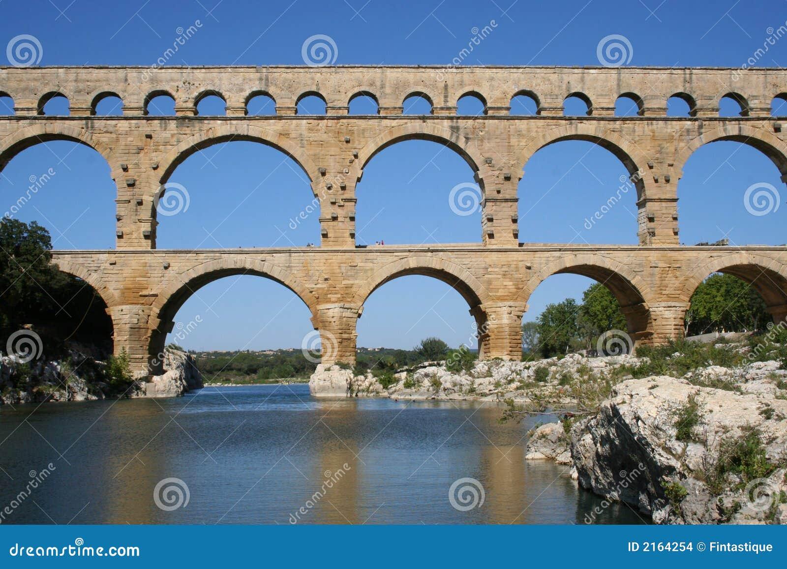 Pont för akveduktdu gard