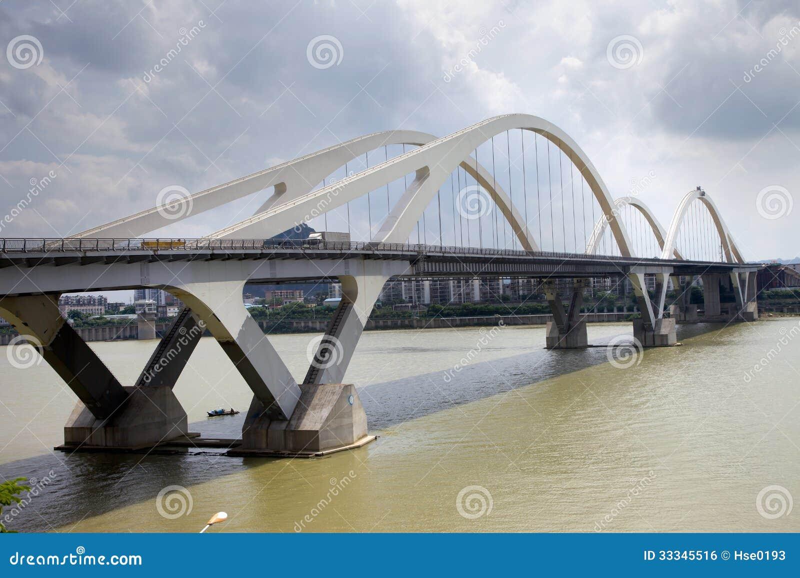 pont moderne de vo 251 te image libre de droits image 33345516