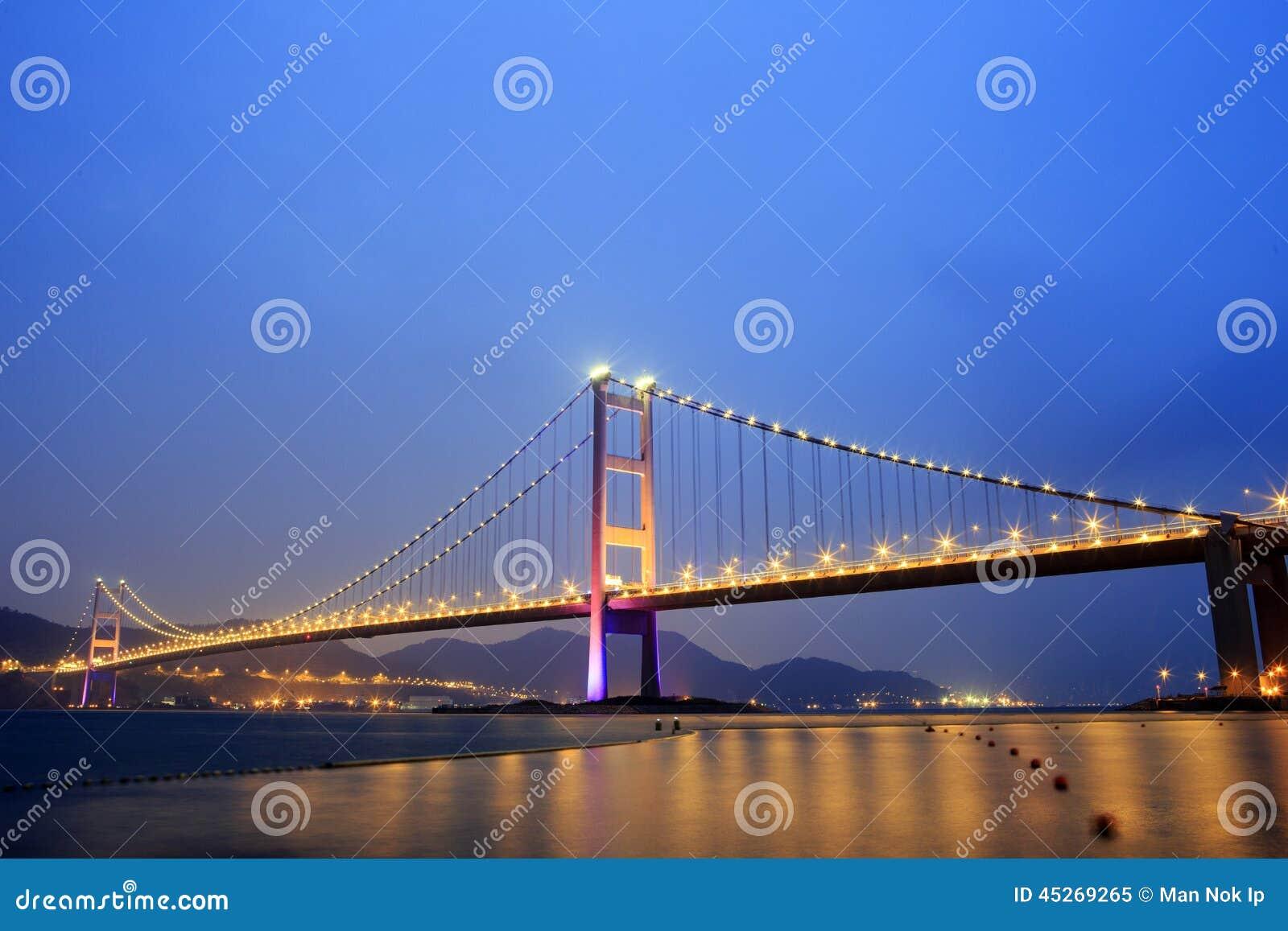 Pont suspendu en hong kong image ditorial image 45269265 - Pont des arts hong kong ...