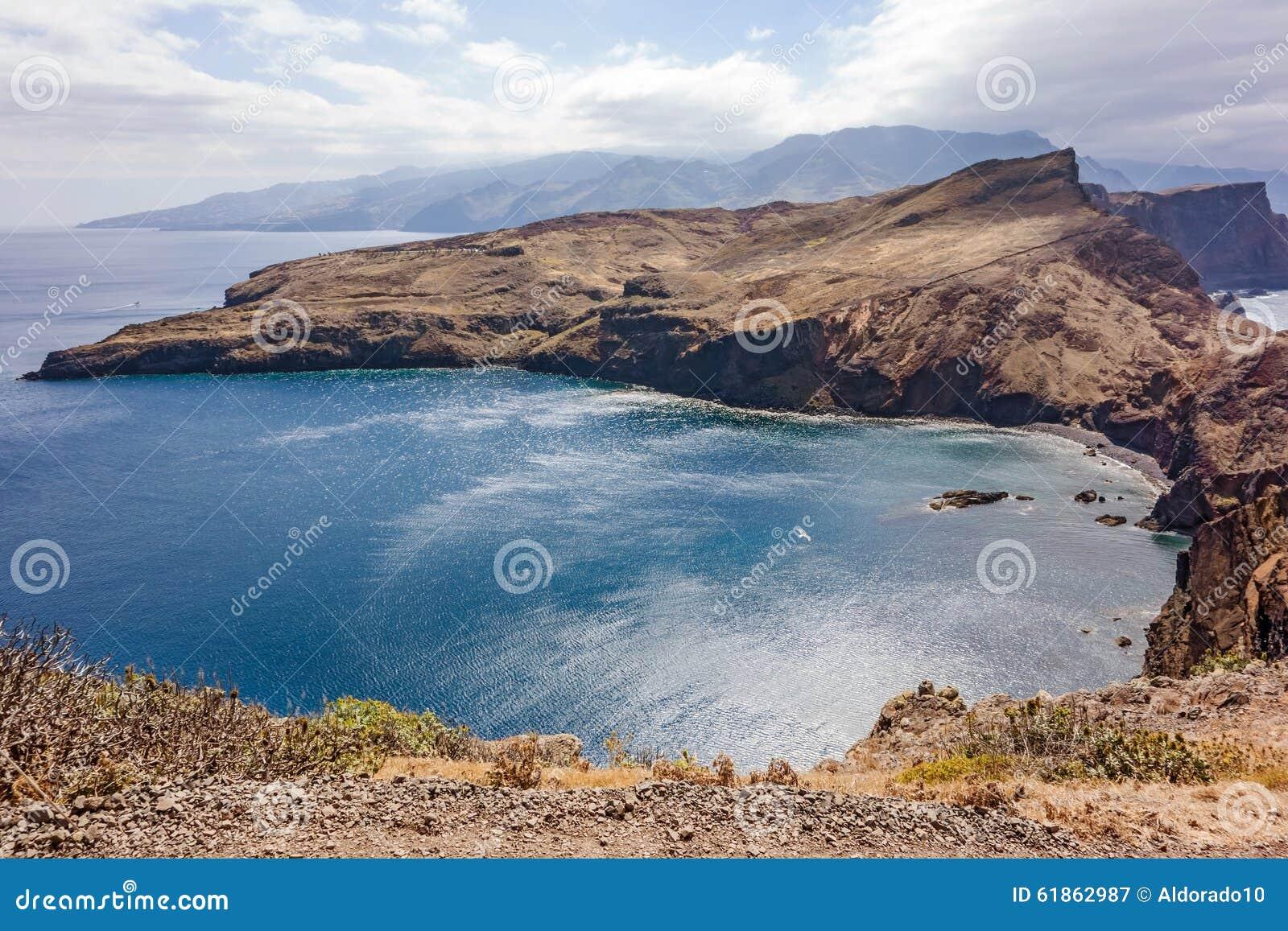 Ponta de sao lourenco madeira stock photo image 61862987 for Landscaping rocks east bay