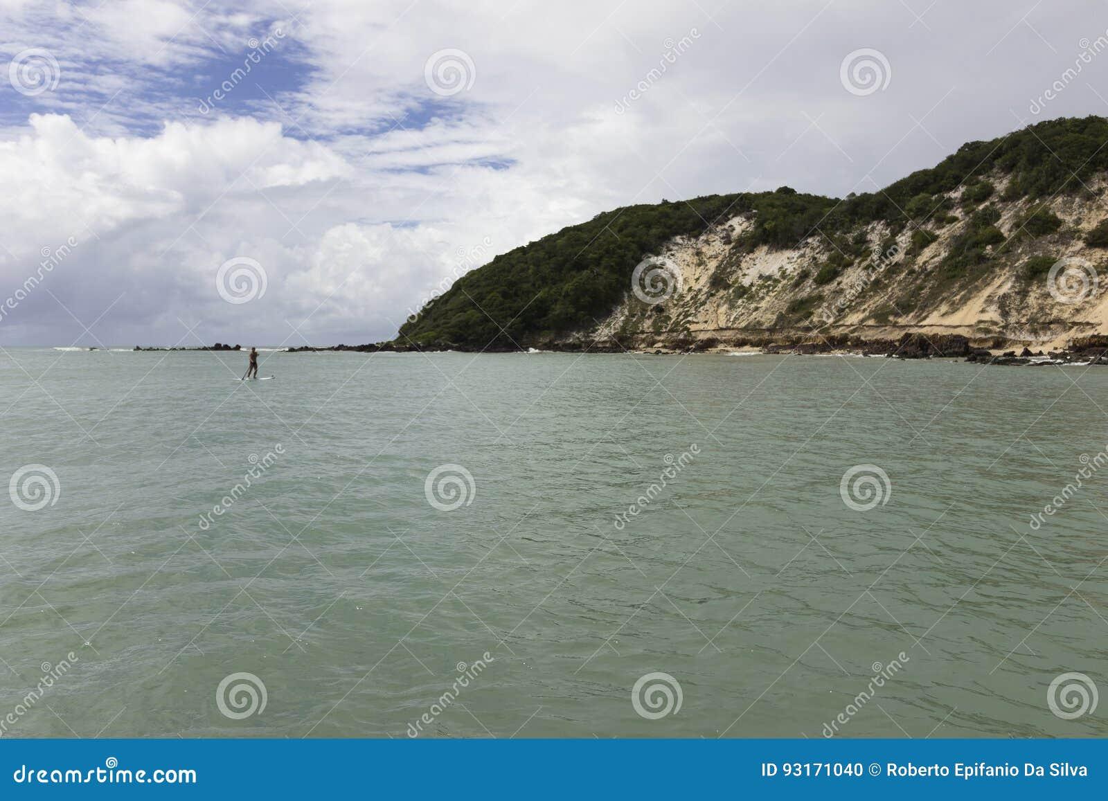 Ponta Negr plażowy Natal, RN, Brazylia