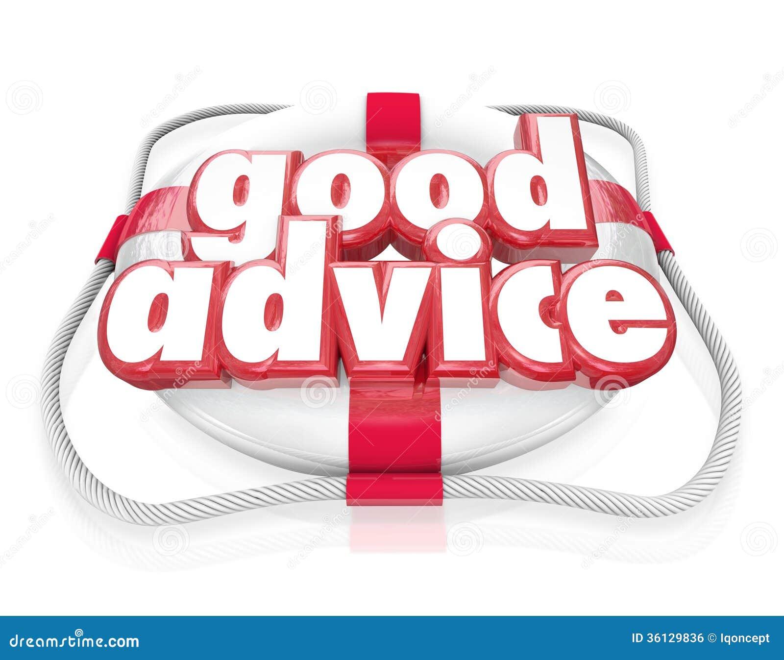 Pontas da ajuda da emergência do conservante de vida das palavras do bom conselho