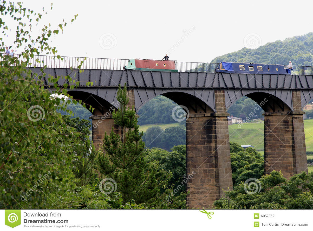Download The Pontcysyllte Aqueduct stock photo. Image of aqueduct - 6057862