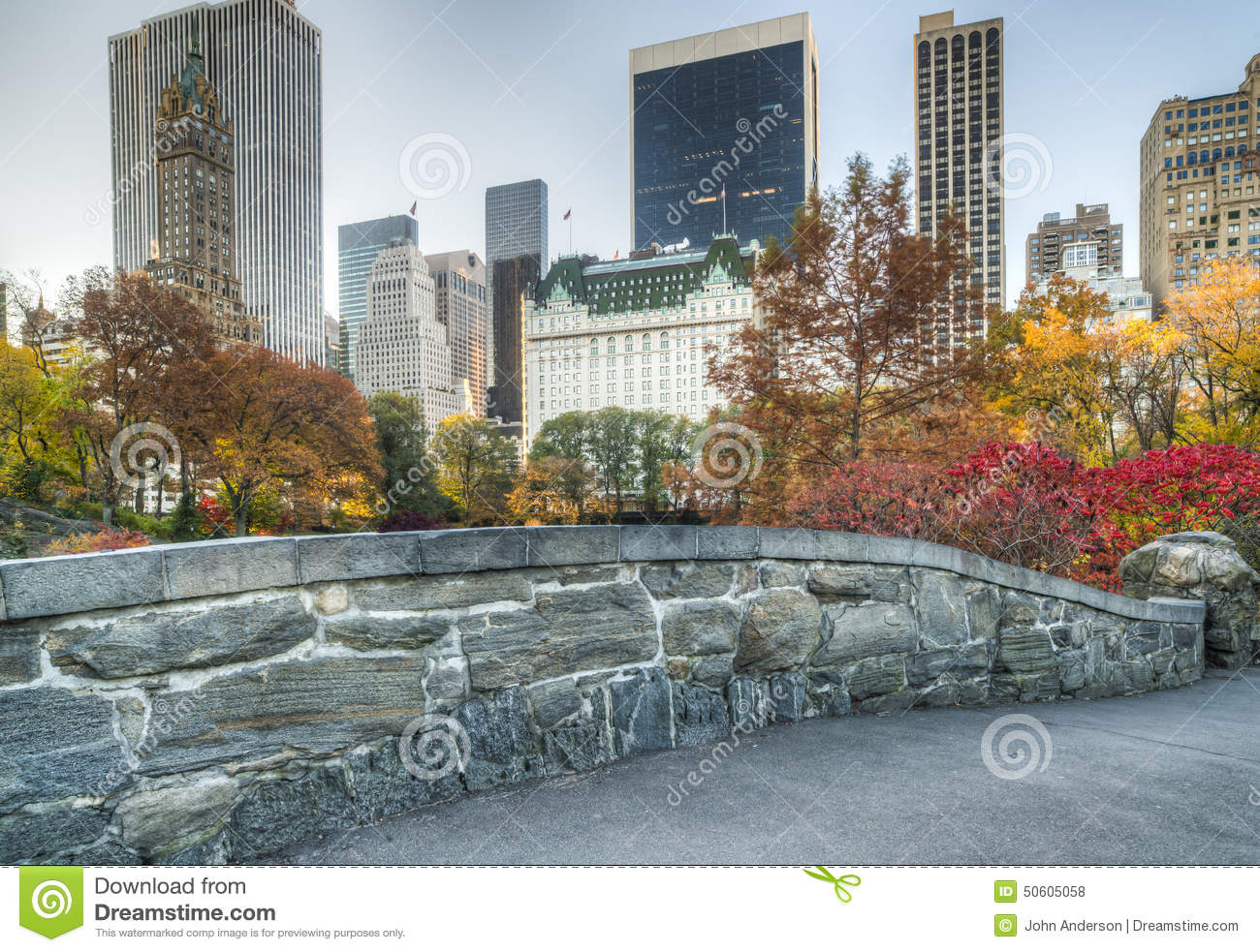 Ponte Central Park de Gapstow, New York City