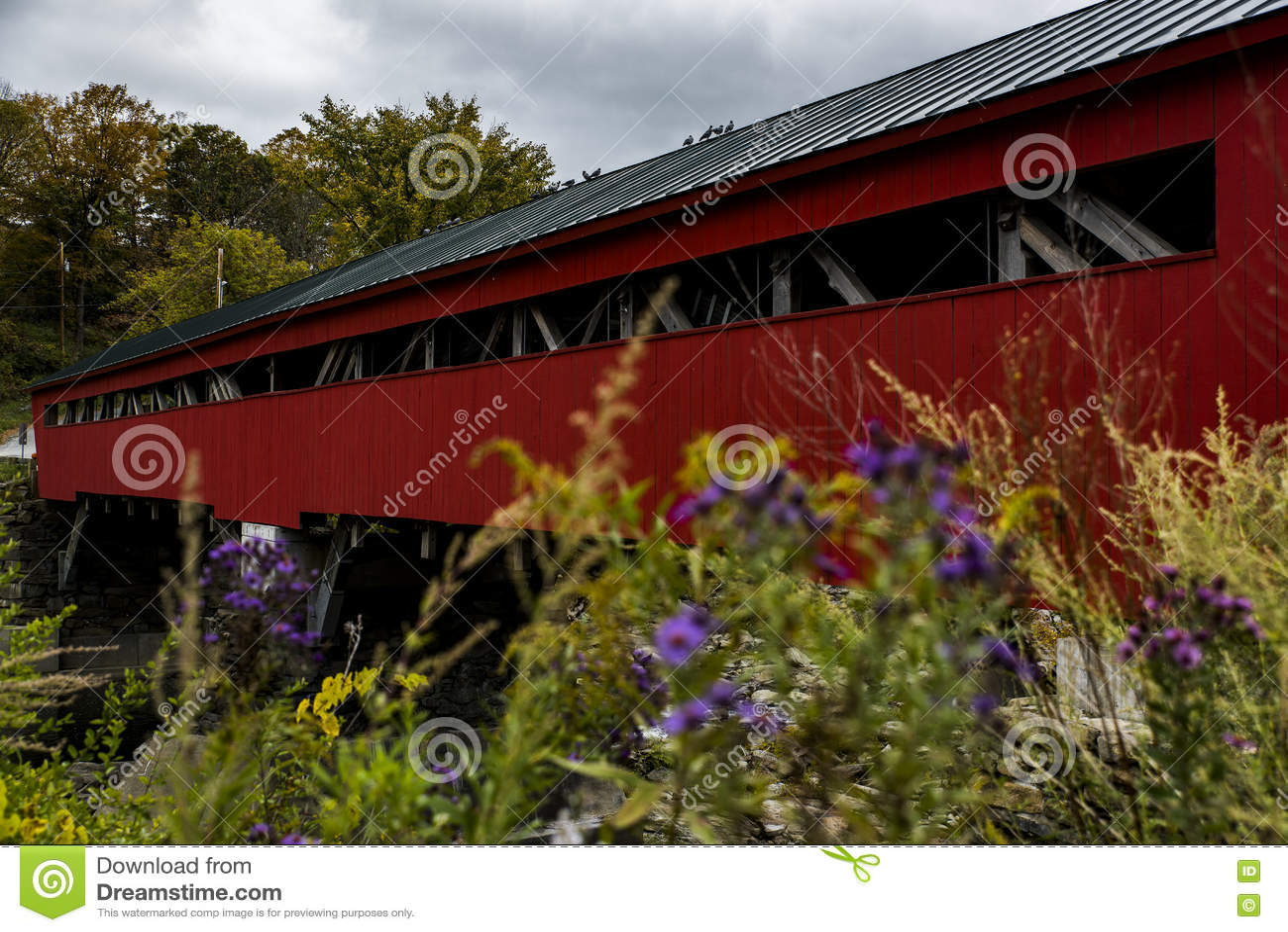Ponte coperto di Taftsville - Woodstock, Vermont