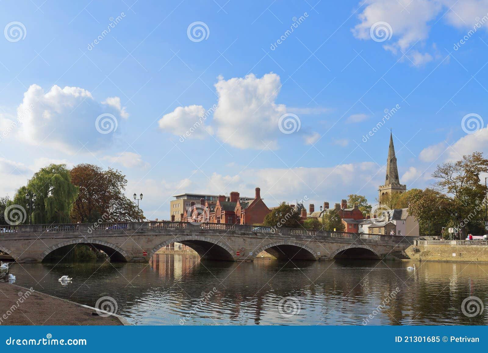 Ponte da cidade de Bedford