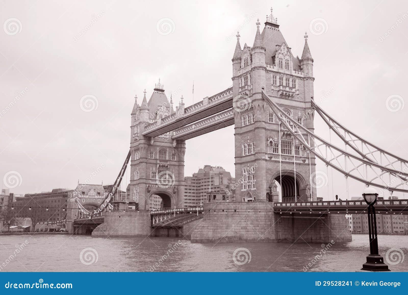 Ponte da torre em Londres