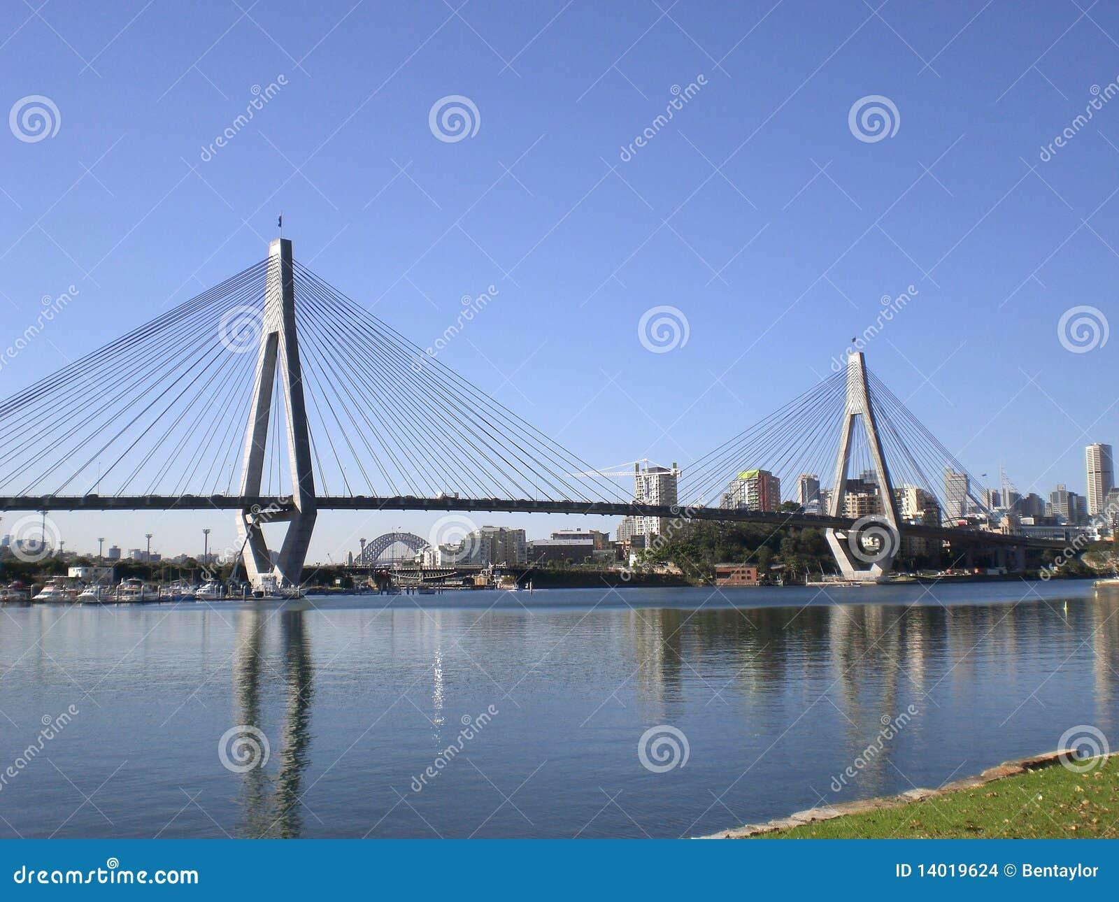 Ponte de Anzac & Sydney CBD
