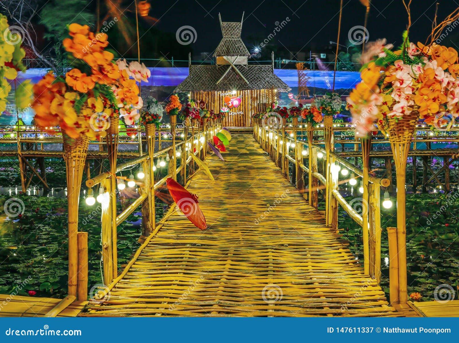 Ponte de bambu, Rangsit