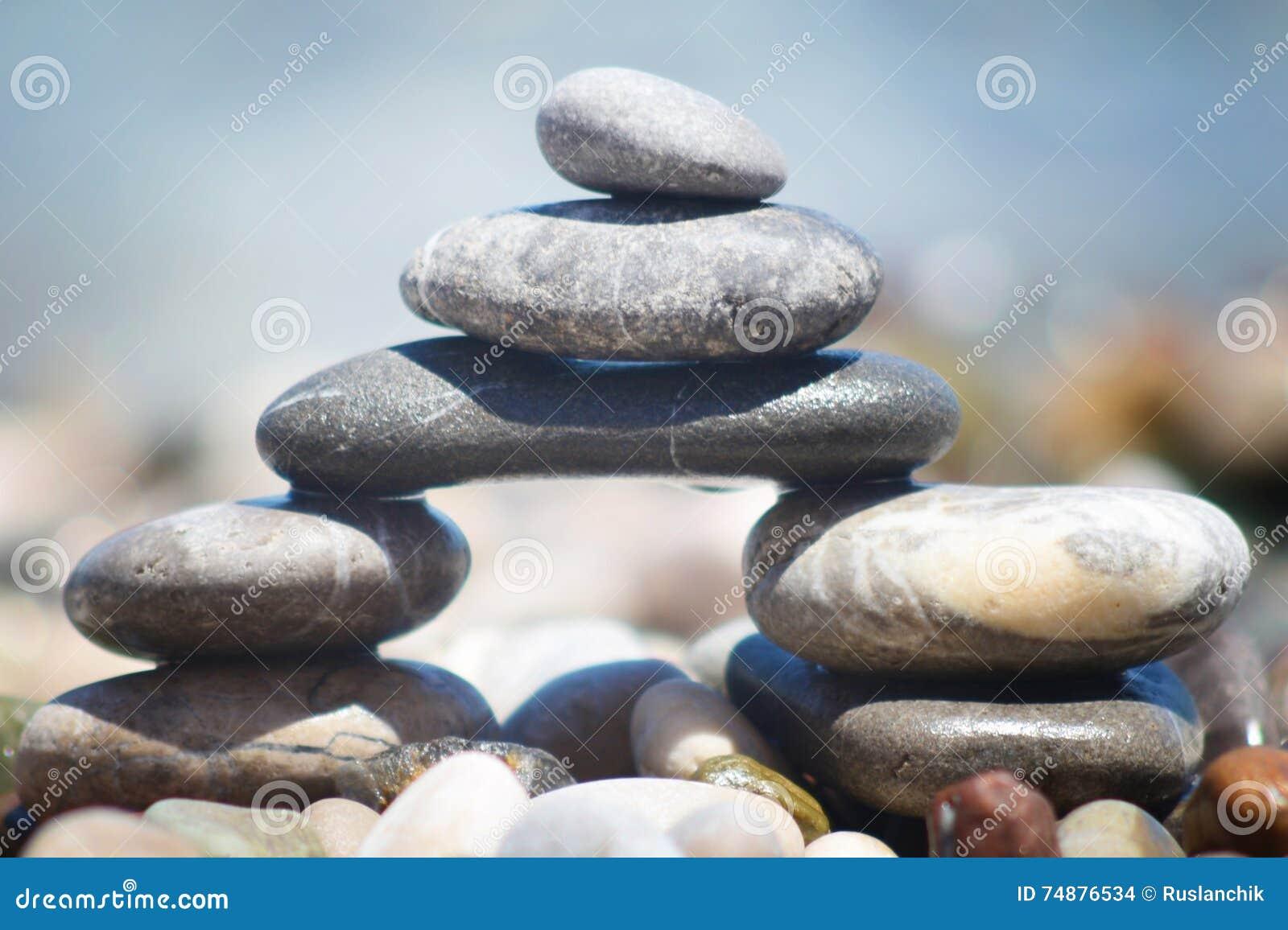 Ponte de pedra de equilíbrio