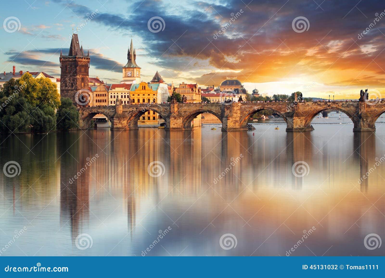 Ponte de Praga - de Charles, República Checa