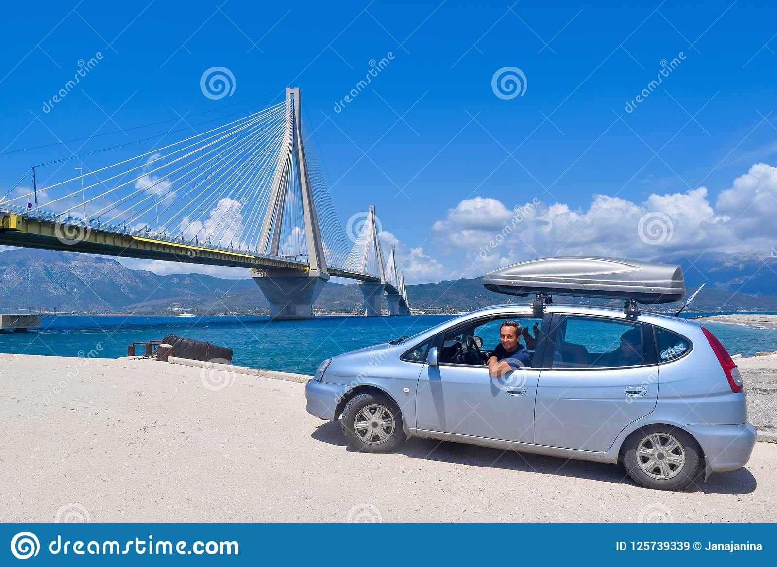 """Ponte de Rio†""""Antirrio, Grécia"""