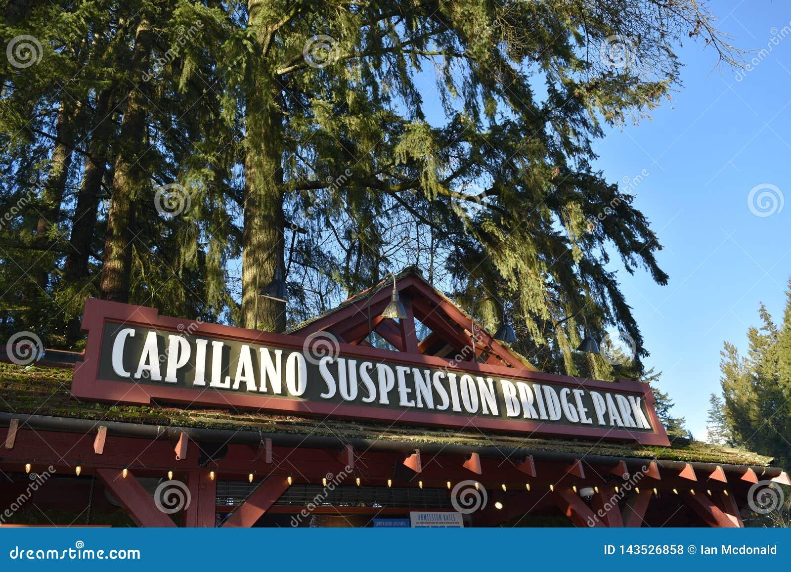Ponte de suspensão de Capilano