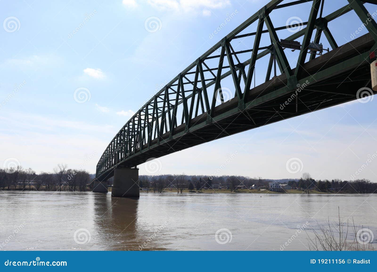 Ponte de Williamstown em Marietta