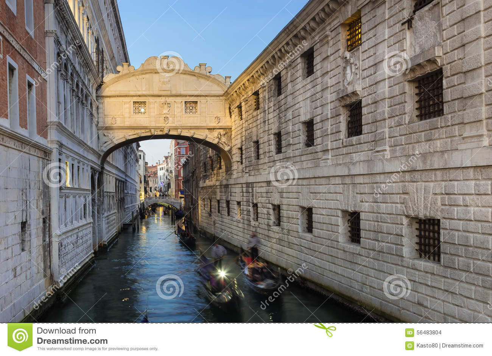 Ponte dei sospiri, Venezia, Italia