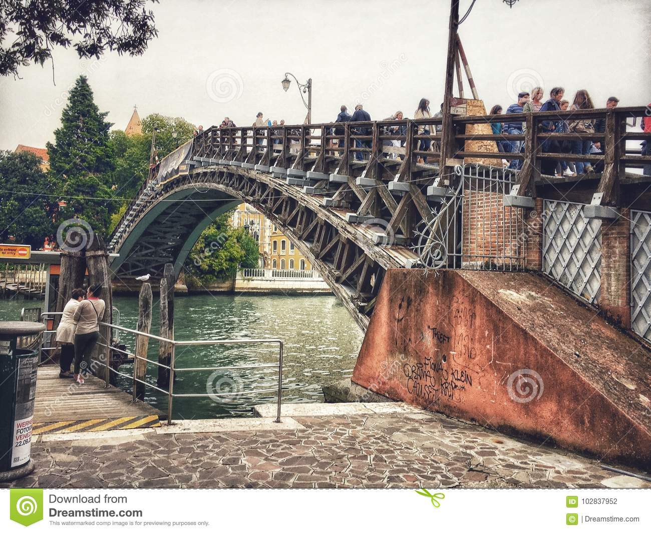 Ponte dell`Accademia bridge