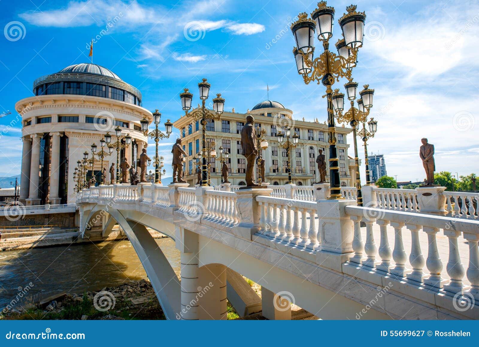 Ponte di arte a Skopje